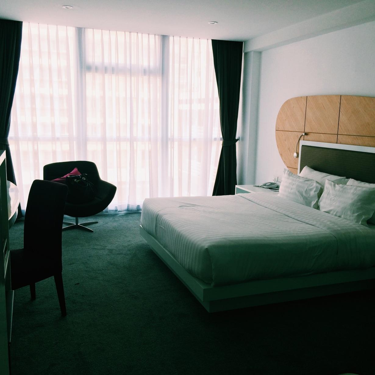 My room at the Hotel Icon Bangkok