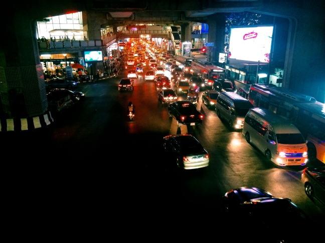 Sathorn at Night