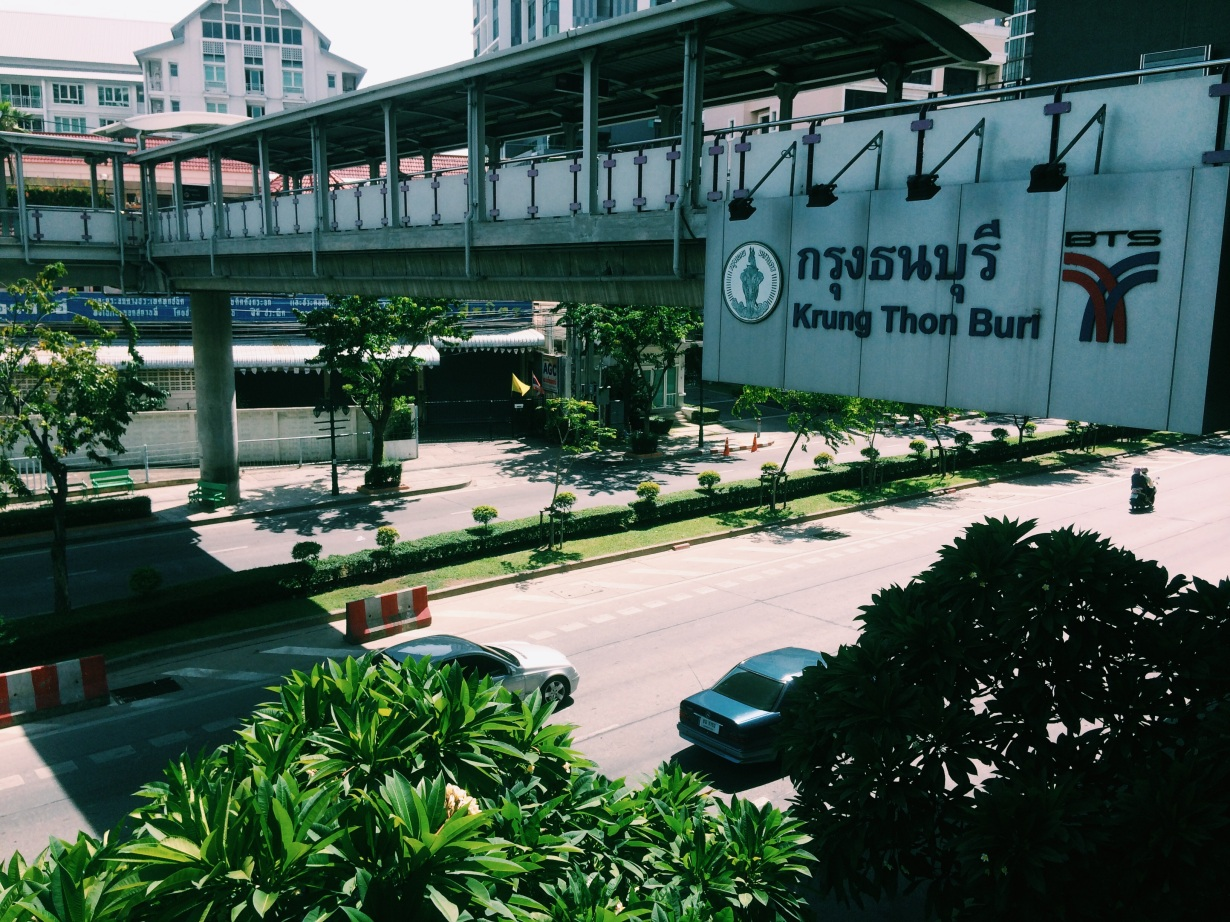 My BTS stop - Krung Thonburi