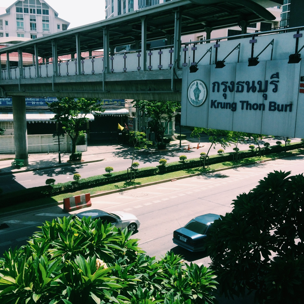My BTS stop - Krung Thonburi
