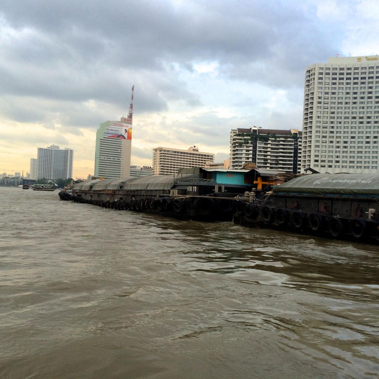 Bangkok barge