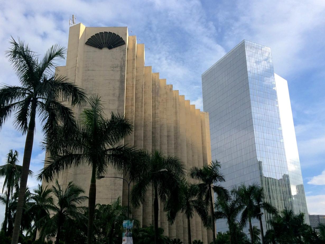 The skyscrapers of Makati