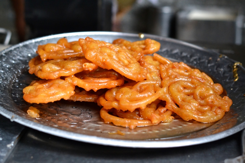 Jalebi, you magical Indian version of funnel cake, you dog!