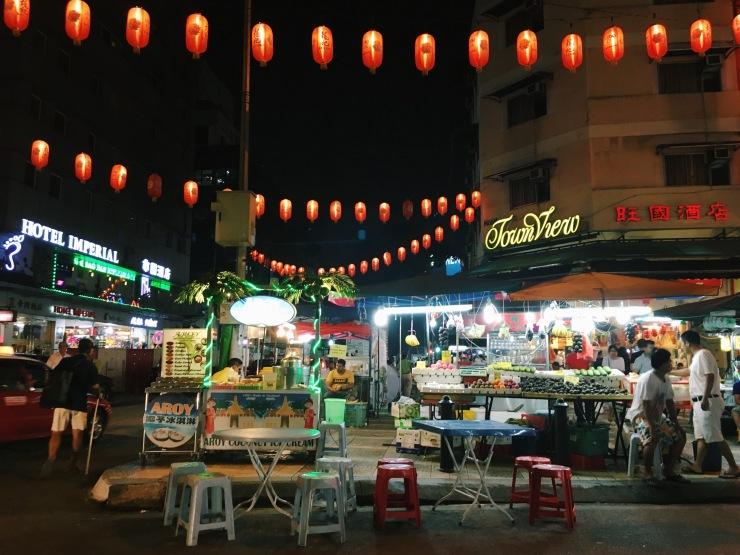 Jalan Alor happenings in Kuala Lumpur.