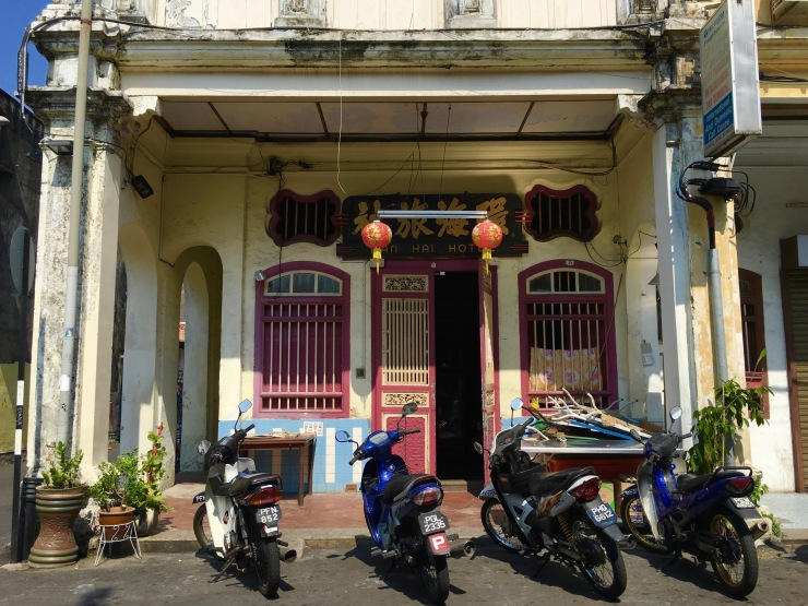 Cutie doorways of Penang.