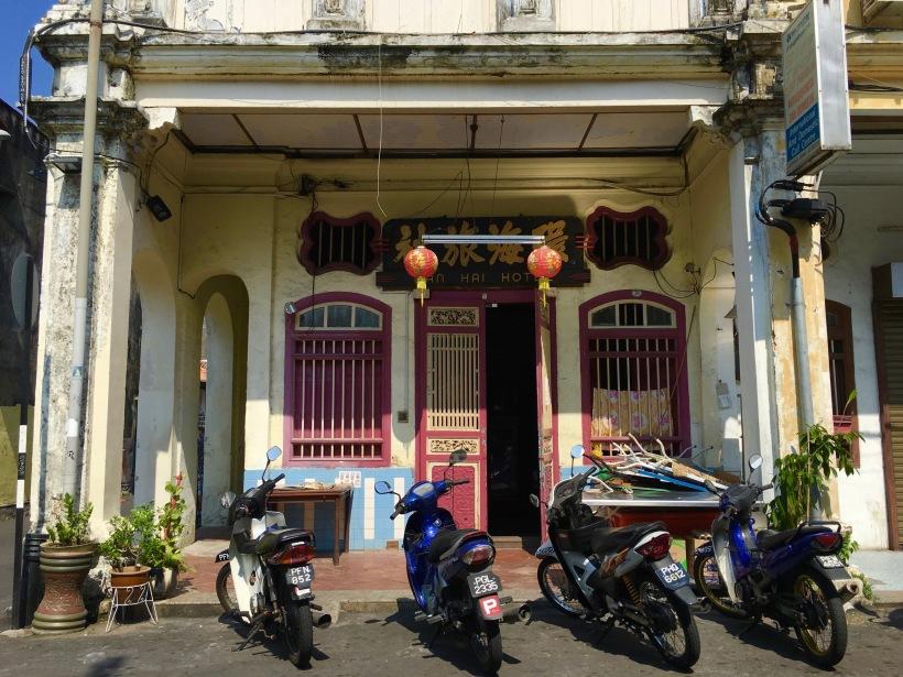 Cutie doorways of Penang.