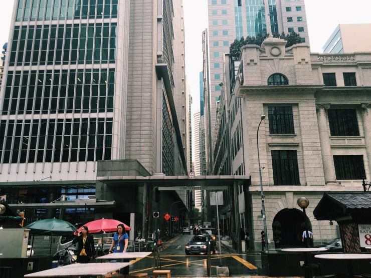 Big old modern Singapore.