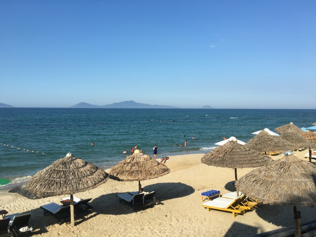 Beach day in Hoi An, a city where I didn't lose anything, thank god.